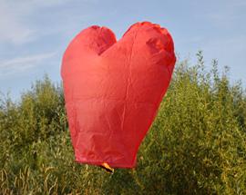 Serce czerwone
